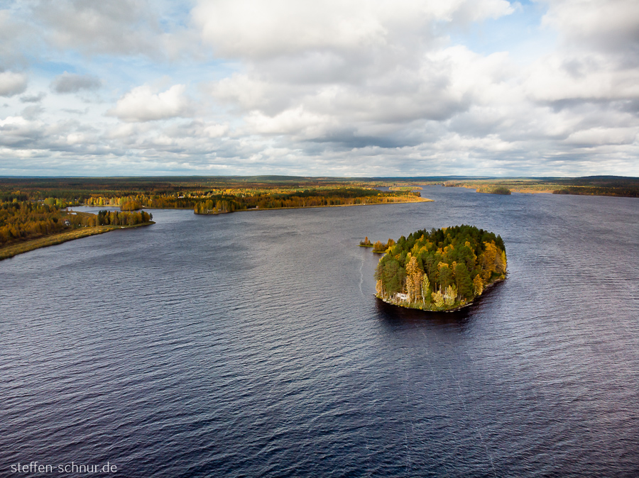 Finnland Insel See