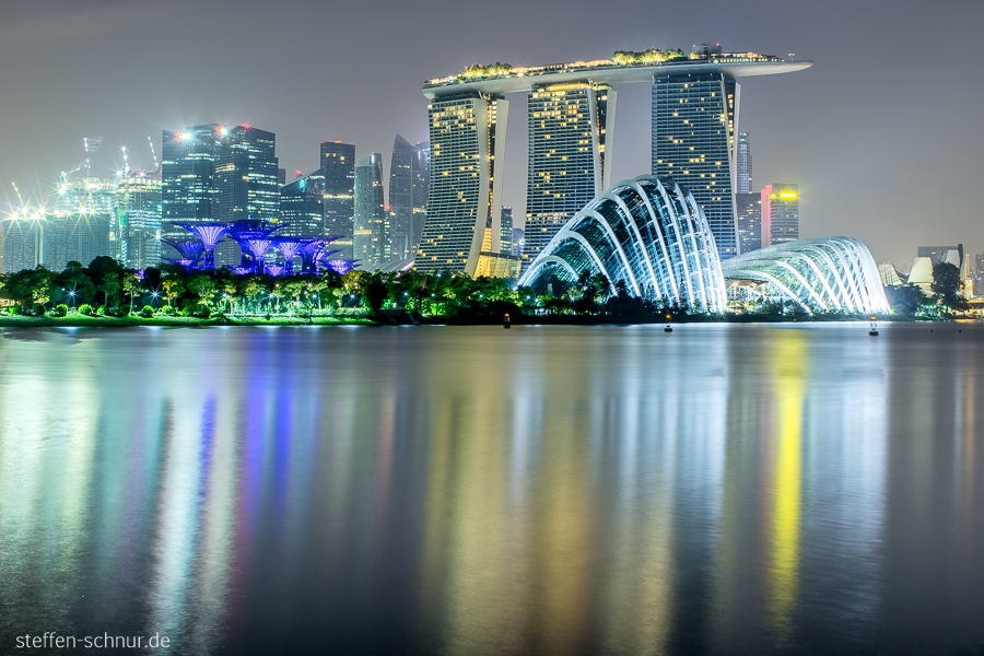 Skyline Gardens by the Bay Singapur Natur
